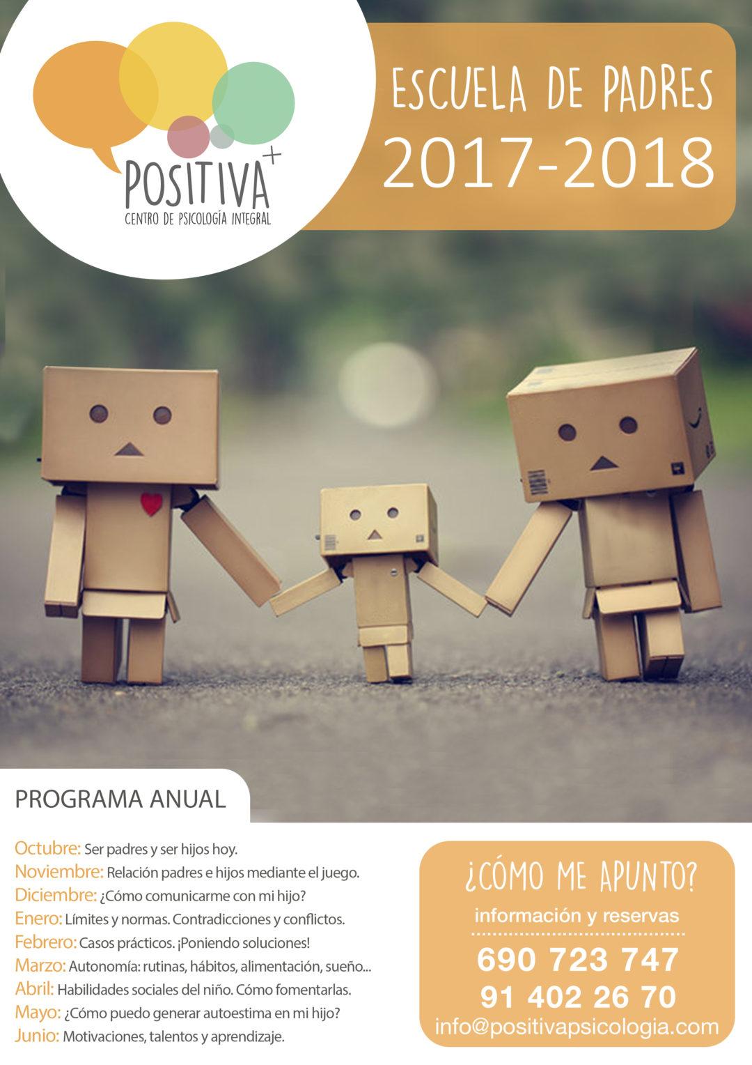 Escuelas de padres 2017-2018